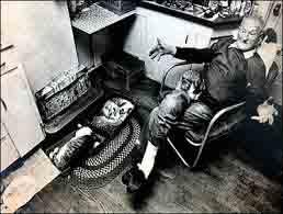 Una delle vittime del Vulcano Harry Truman