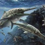 Ittiosauro Giurassico